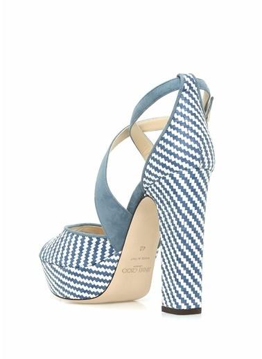 Jimmy Choo Ayakkabı Mavi